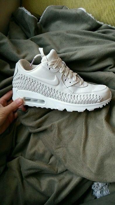 Nike air max 90 Premium Woven phantom white