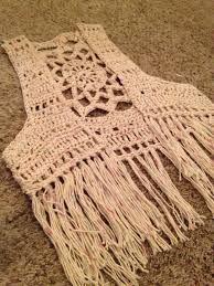 Image Result For Free Crochet Pattern Vest With Fringe Boho Vest