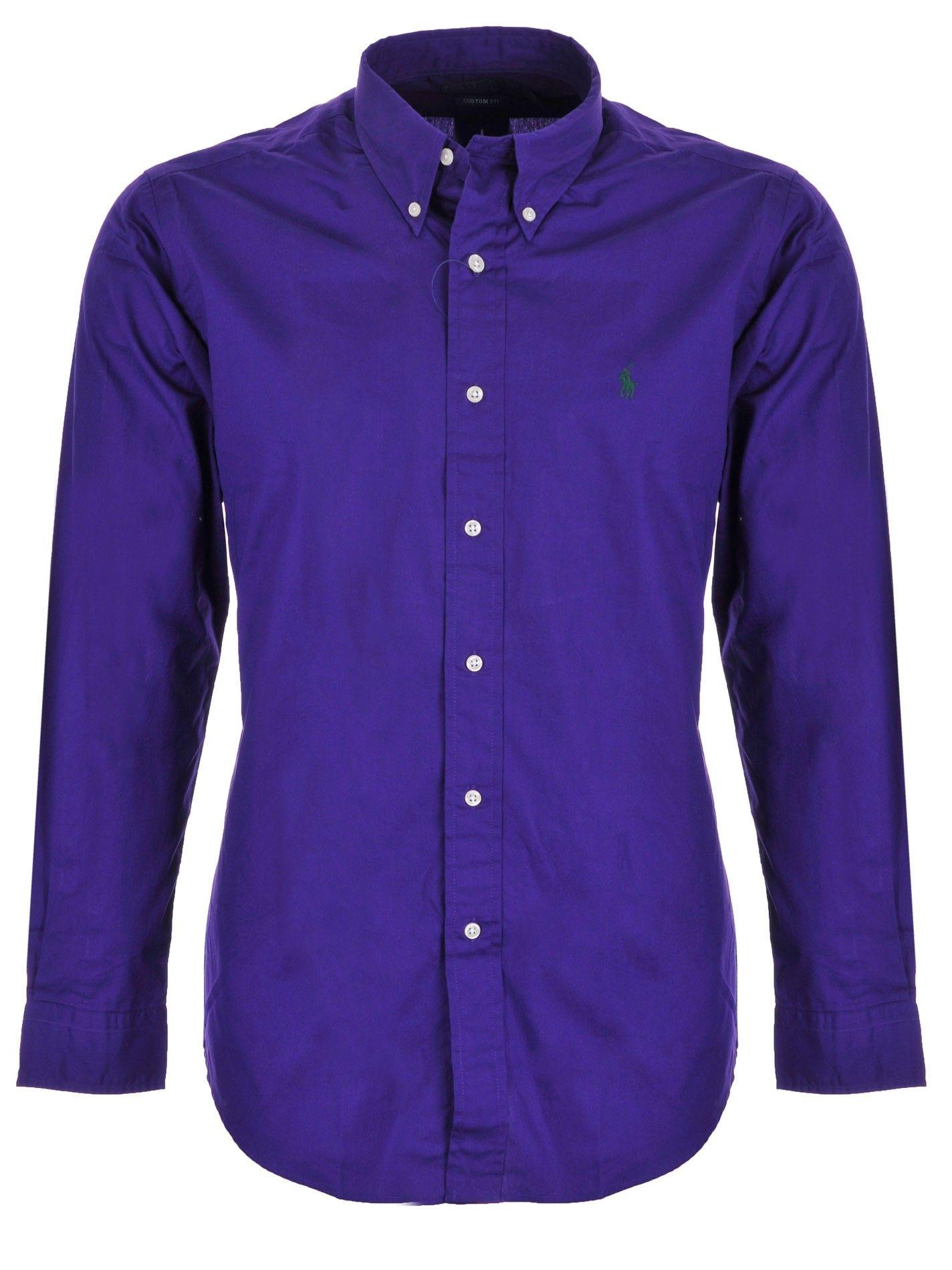 Camiseta de Hombre Baratos en Rebajas, Tinta Azul, Algodon, 2017, M Ralph Lauren