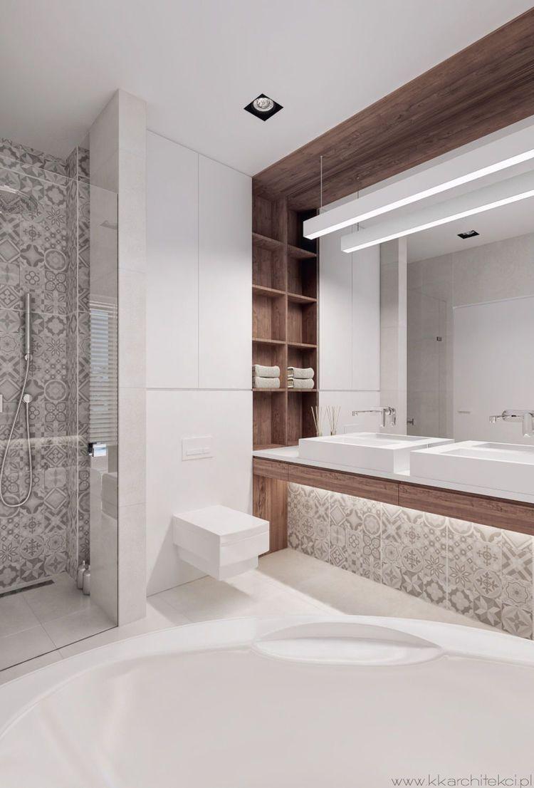 Dom Podmiejski Bathroom Pinterest Salle De Bains Salle Et Sdb