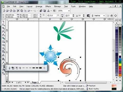 How to use… | Tutorial CorelDraw, Mastering CorelDraw, Belajar