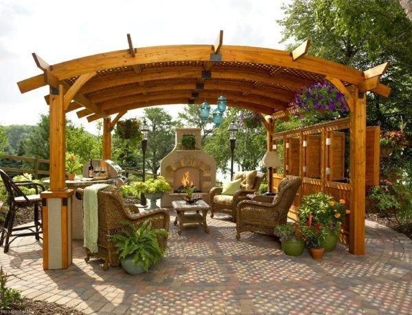 Quel Kiosque De Jardin Pour Le Cour De Vos Reves Outdoor Pergola Backyard Gazebo Pergola Patio