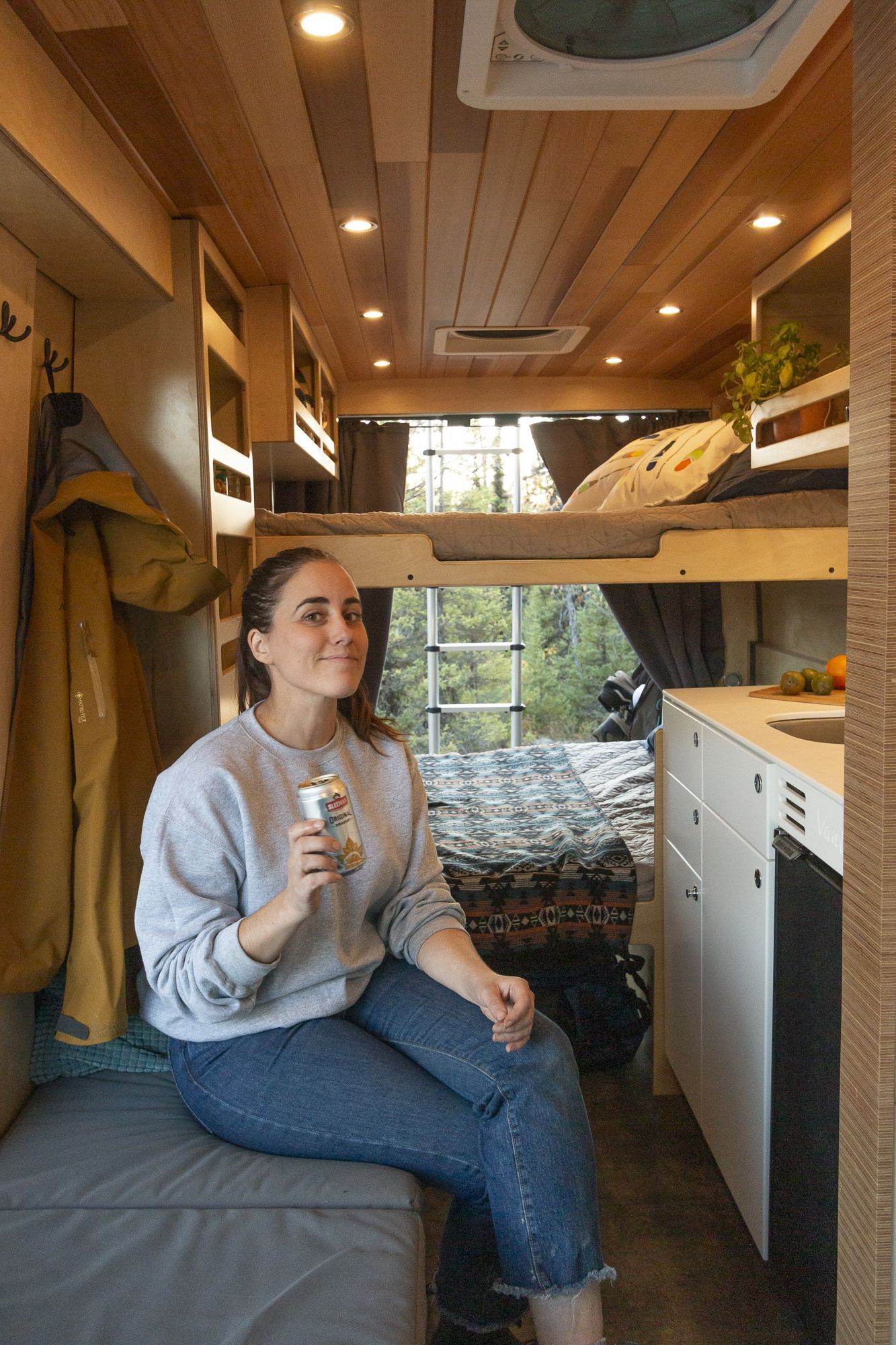 Photo of Travel in the best small space design campervan! VanLife MTL