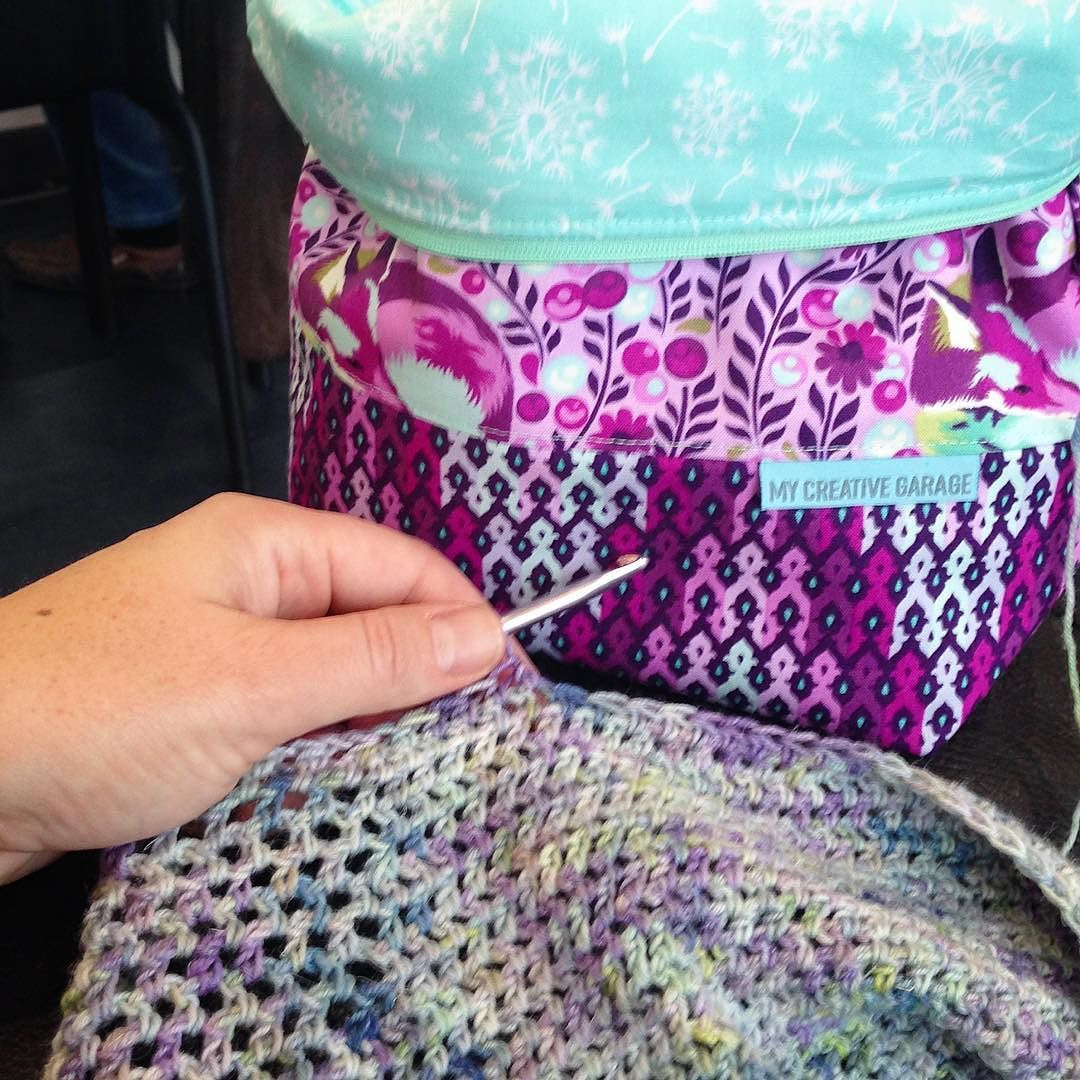 Saturday morning ritual  crochet at swimming lessons. How gorgeous ... 3eb1e90605c