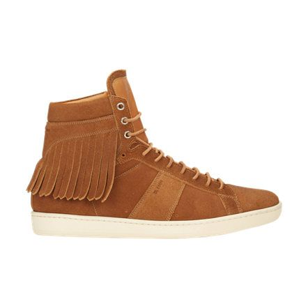 Saint Laurent Fringe SL/16H Court Classic Sneakers at Barneys.com