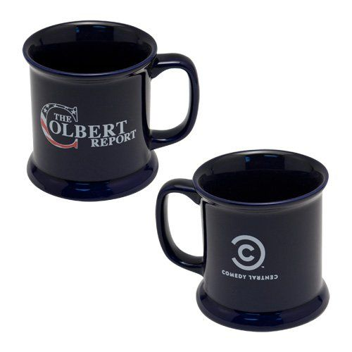 quotthe colbert reportquot tv show official logo coffee mug 16