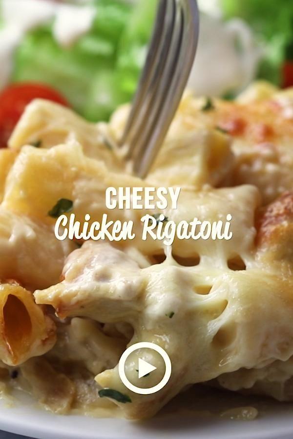 Cheesy Chicken Rigatoni - Plain Chicken