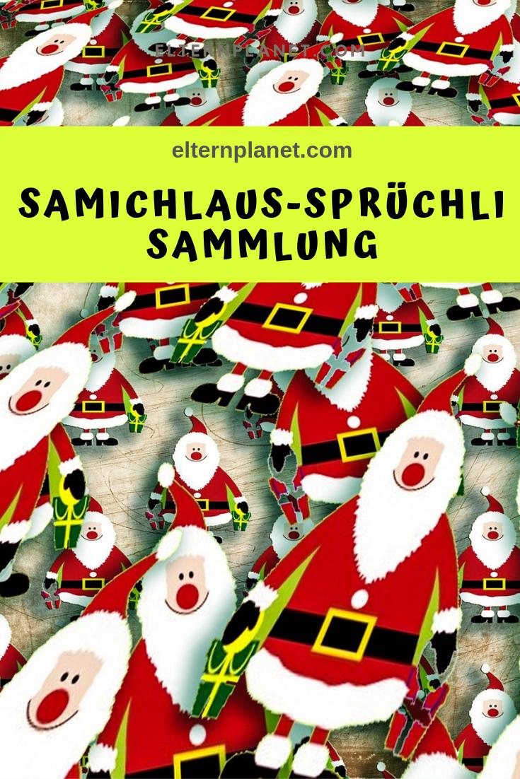 Die Elternplanet Samichlaus Nikolaus Spruche Sammlung Nikolaus Spruch Spruche Kinder Samichlaus Spruche
