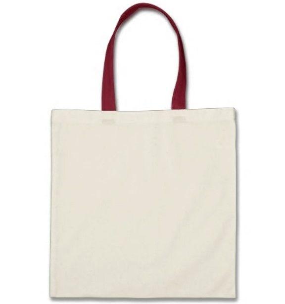 b47ba6cebb Wholesale Tote Bags With Color Handles 100% Cotton