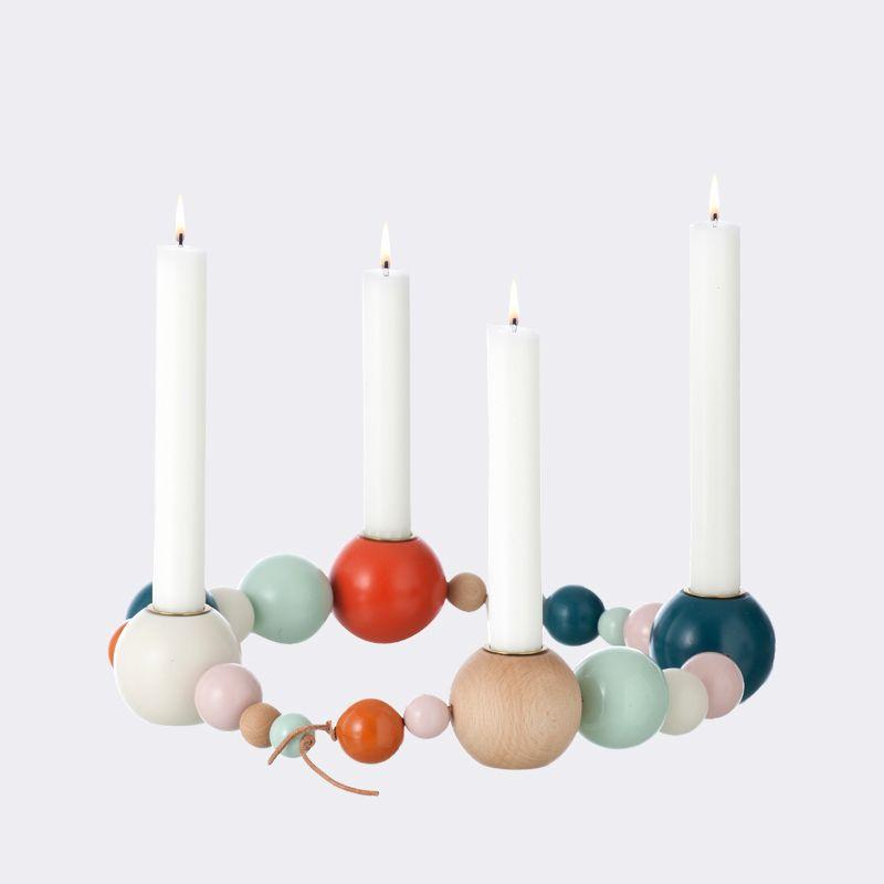 Danisches design adventskranz