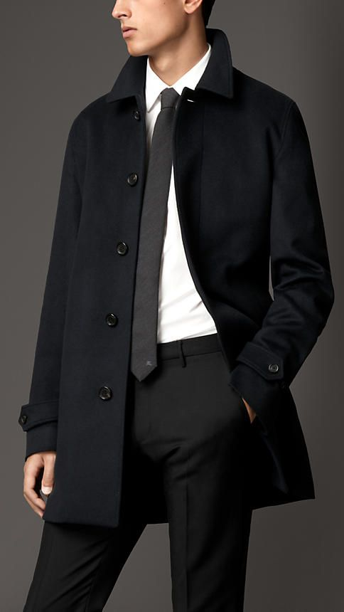 Wool Cashmere Car Coat | Burberry | Menswear | Pinterest | Пальто ...