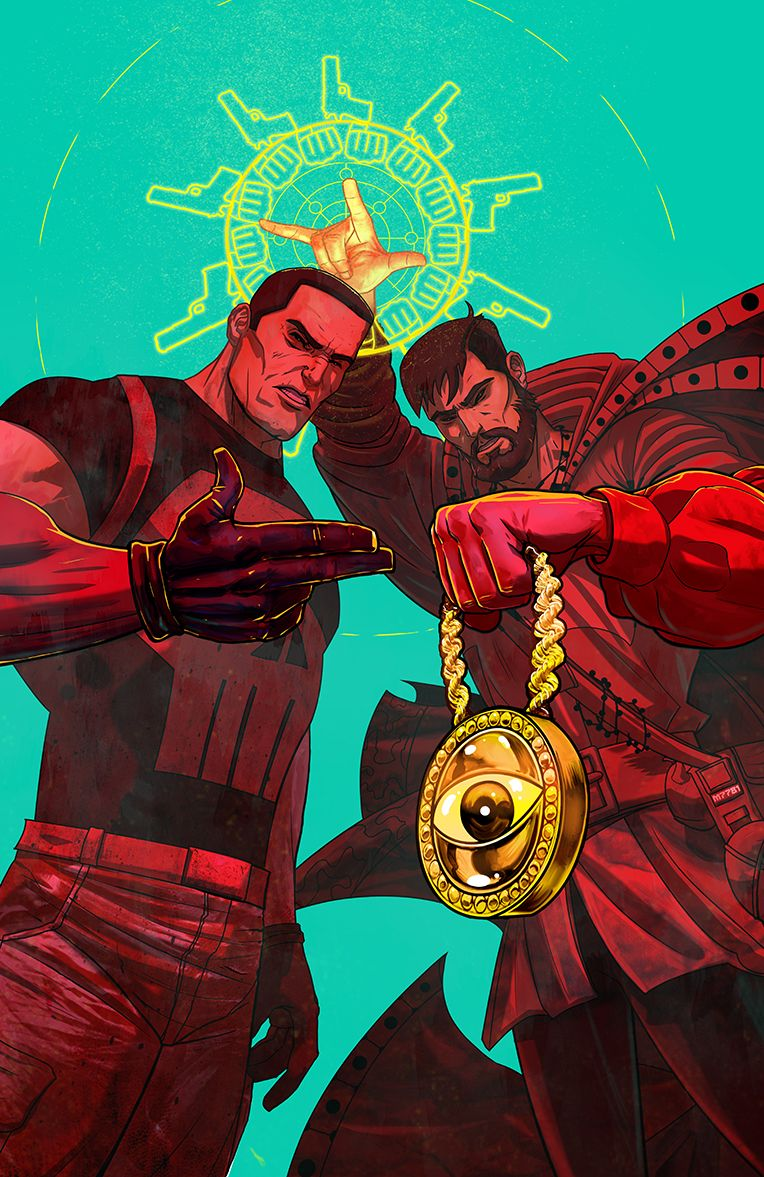 spyrale: Punisher x Doctor Strange by Marco DAlfonso // Follow ...