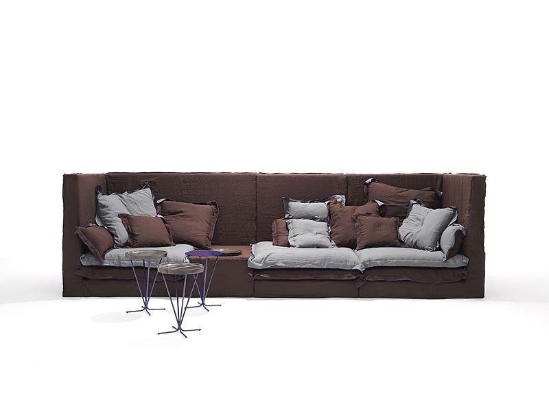 Modular sofa / contemporary / fabric / by Paola Navone - JAN'S - Linteloo