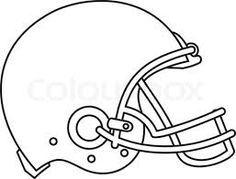 Football Helmet Template Google Search Football Helmets