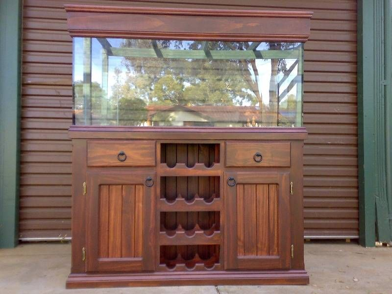 Aquarium furniture inspiration ideas for your home fish for Fish tank stand 20 gallon