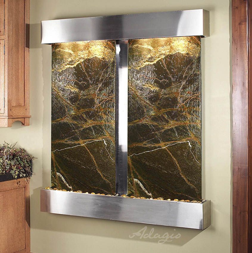 Captivating An Interior Waterfall Feature Is Great For The Home And Defines Peace And  Tranquility. Has