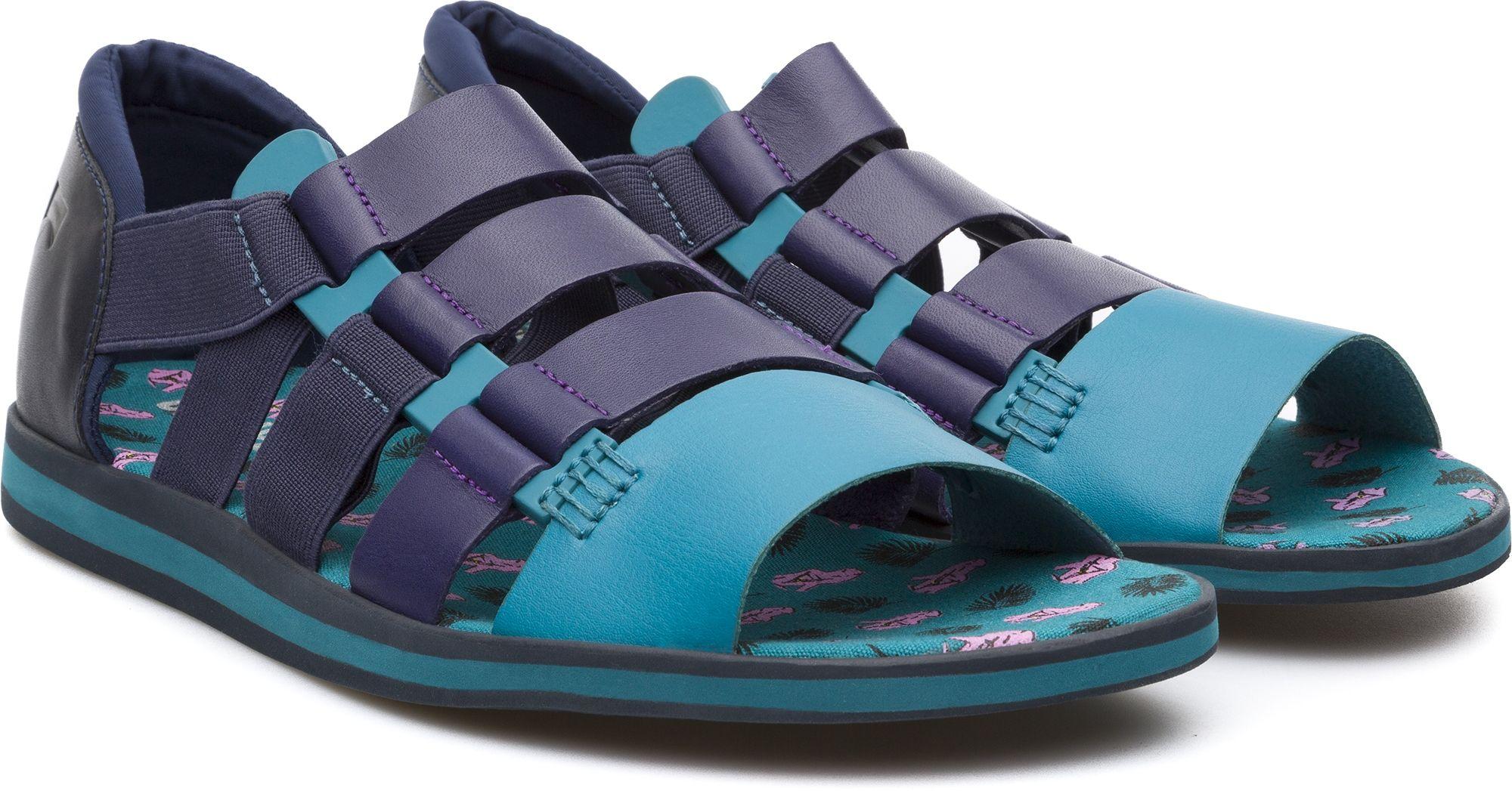 2019 High Camper SPRAY Azul Zapatos Sandalias Hombre