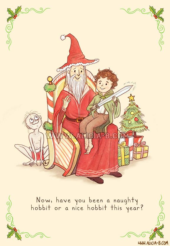 Lord Of The Rings - Christmas Card | Movies | Pinterest