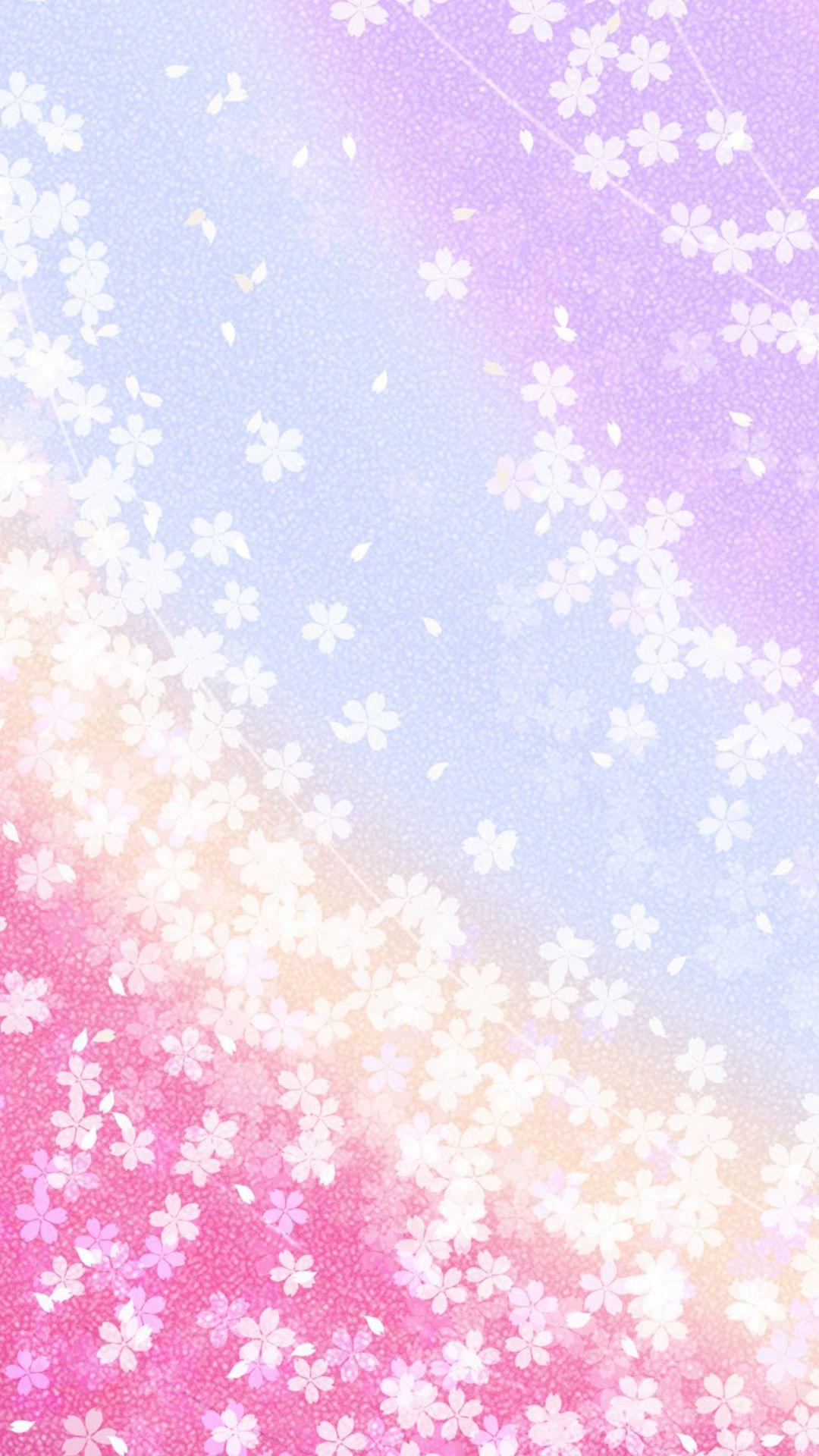 桜和風 待ち受け ピンク 和風 和柄 日本的 なスマホ壁紙