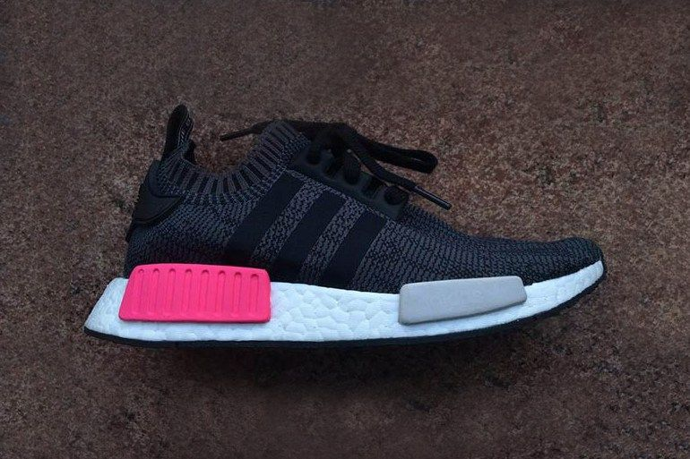 adidas Originals Injects a Pop of Pink Into the Black NMD_R1
