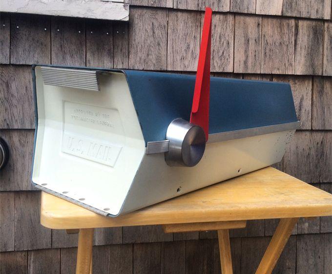 Wordpress Com Vintage Mailbox Mid Century Modern Mailbox Modern Mailbox