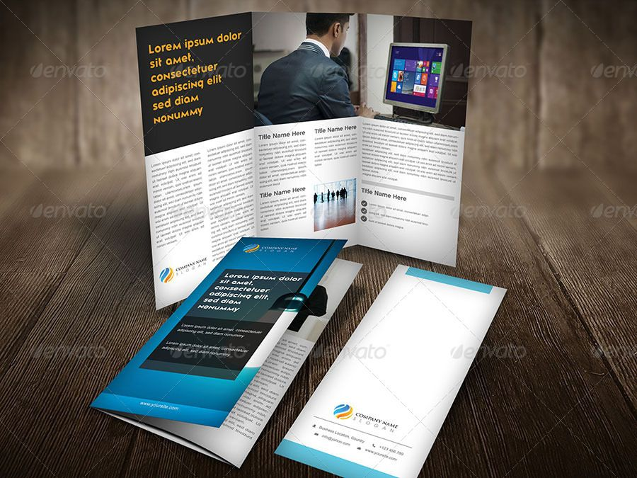 it s a corporate tri fold brochure template design for any types of