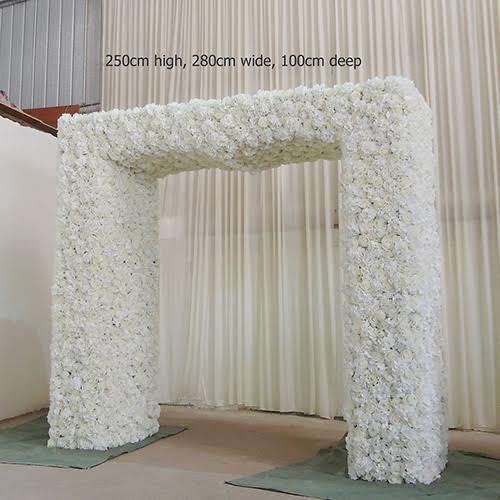 Custom flower arch made to order custom flower arch flower arch custom flower arch made to order custom flower arch flower arch flower arch for weddings flower arch decor flower canopy floral arch for sale junglespirit Images