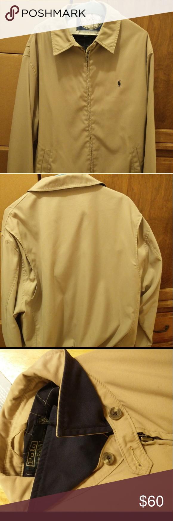 Polo By Ralph Lauren Windbreaker Harrington Jacket With Images Ralph Lauren Harrington Jacket