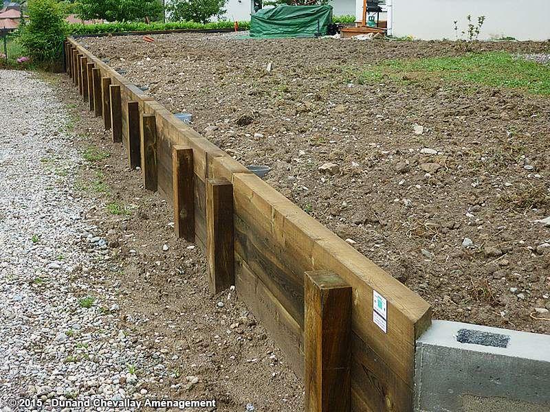 Mur De Soutènement En Bois Ecosia