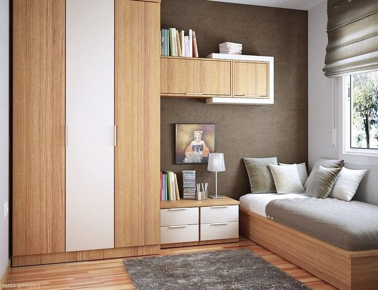 65+ Comfortable Small Bedroom Decorating Ideas