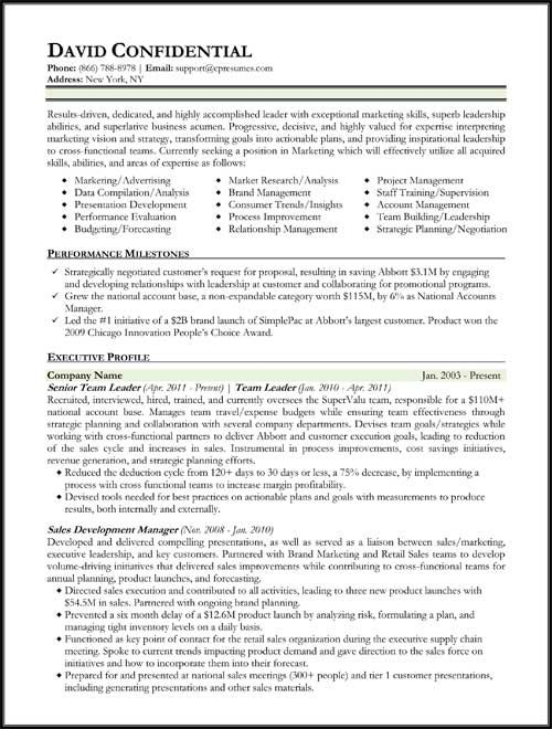 Hybrid Resume Format Resume Format Job Resume Format Types Of Resumes