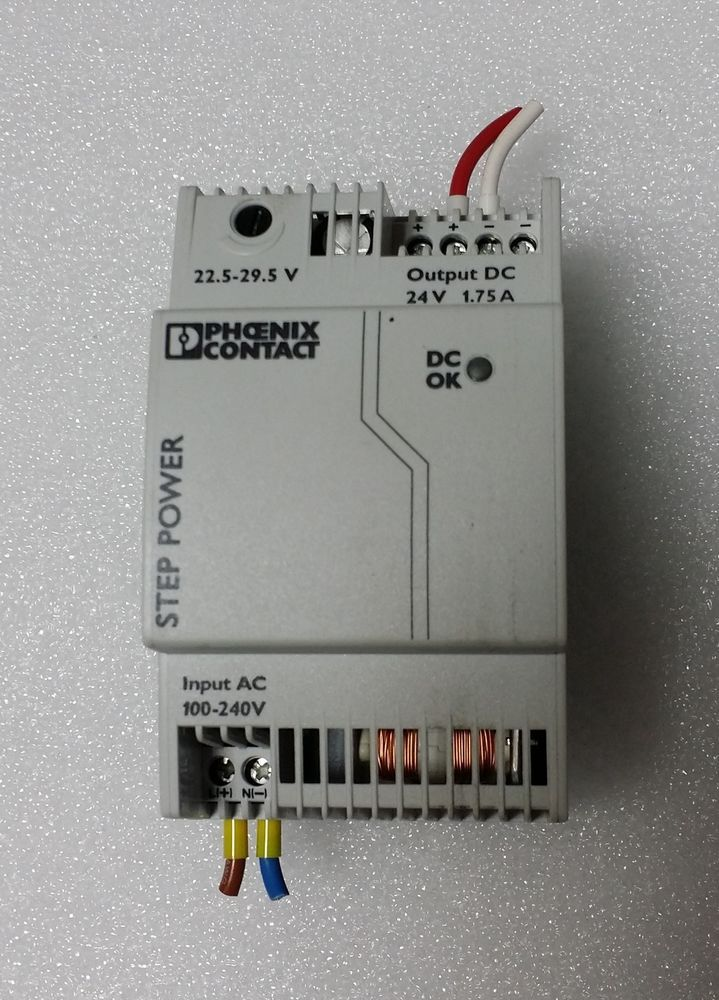 Details About Phoenix Contact Step 1ac  24dc  1 75 Step