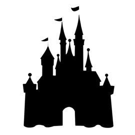 Disney Castle Stencil Disney Castle Silhouette Disneyland Castle Silhouette Disney Silhouettes