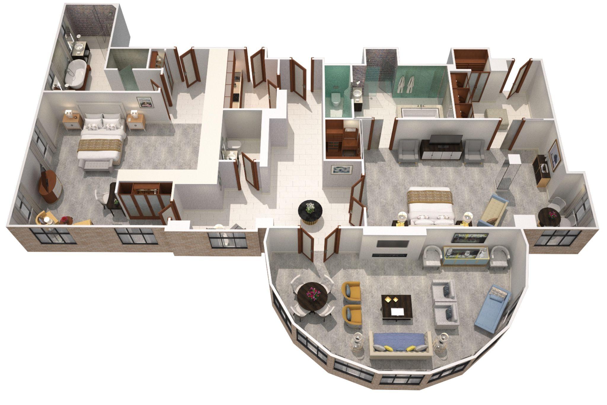 The Langham London Infinity Suite 236 Sqm 2540 Sqft Hotel Suite Luxury Sims House Design House Plans Mansion