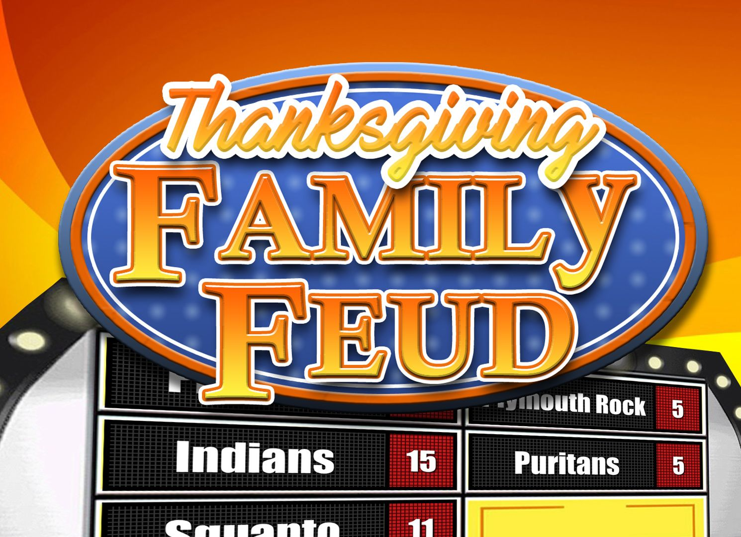 amazing thanksgiving family feud powerpoint game. | youth ministry, Powerpoint templates