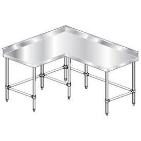 Stainless Steel Corner Work Table 3tcbx Series Stainless Usa Work Table Stainless Steel Stainless
