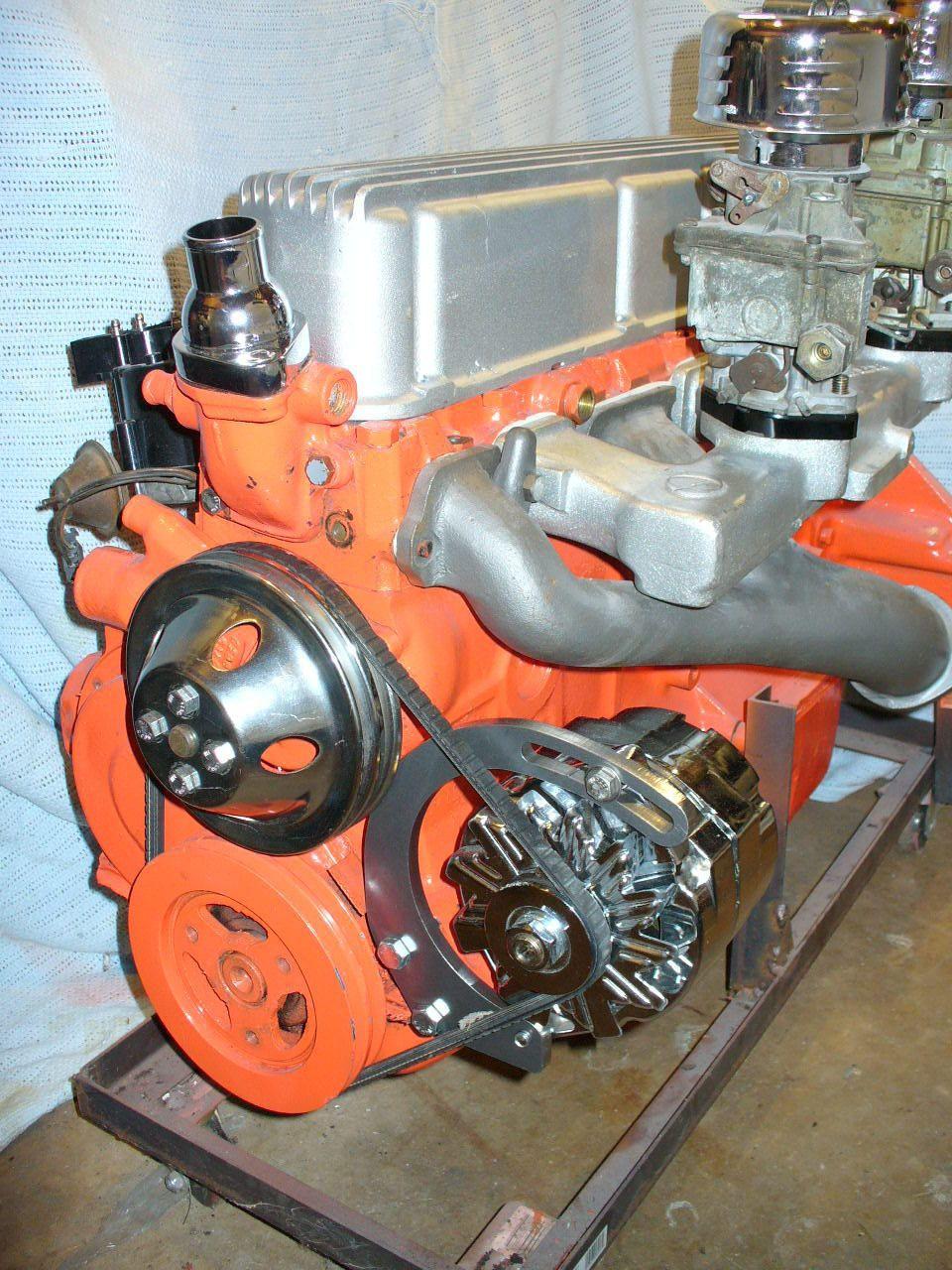 10022 Tight Fit Alternator Bracket 153 194 215 230 250 292 Chevy
