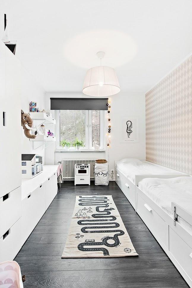 Inspiraci n para tu casa suelos negros kids room decoracion habitacion ni o decorar - Suelo habitacion ninos ...