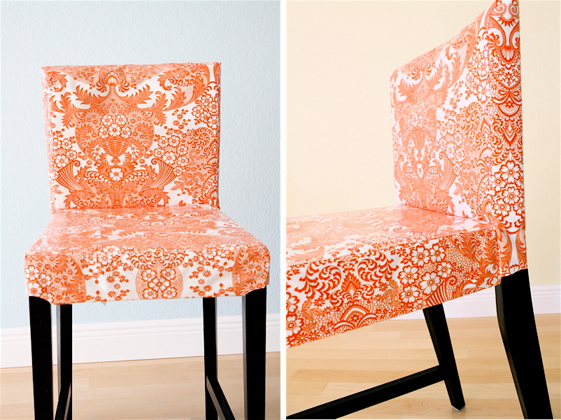 Slipcovers For Bar Stools   Oilcloth, Idea/image From @danamadeit.com Blog