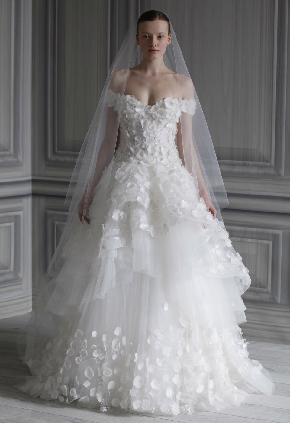 If your hips are either too small or too big, a wedding dresses with ...