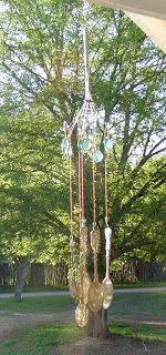 Going Green Crafters And Artists: Craft Project: Silver Spoon Windchimes