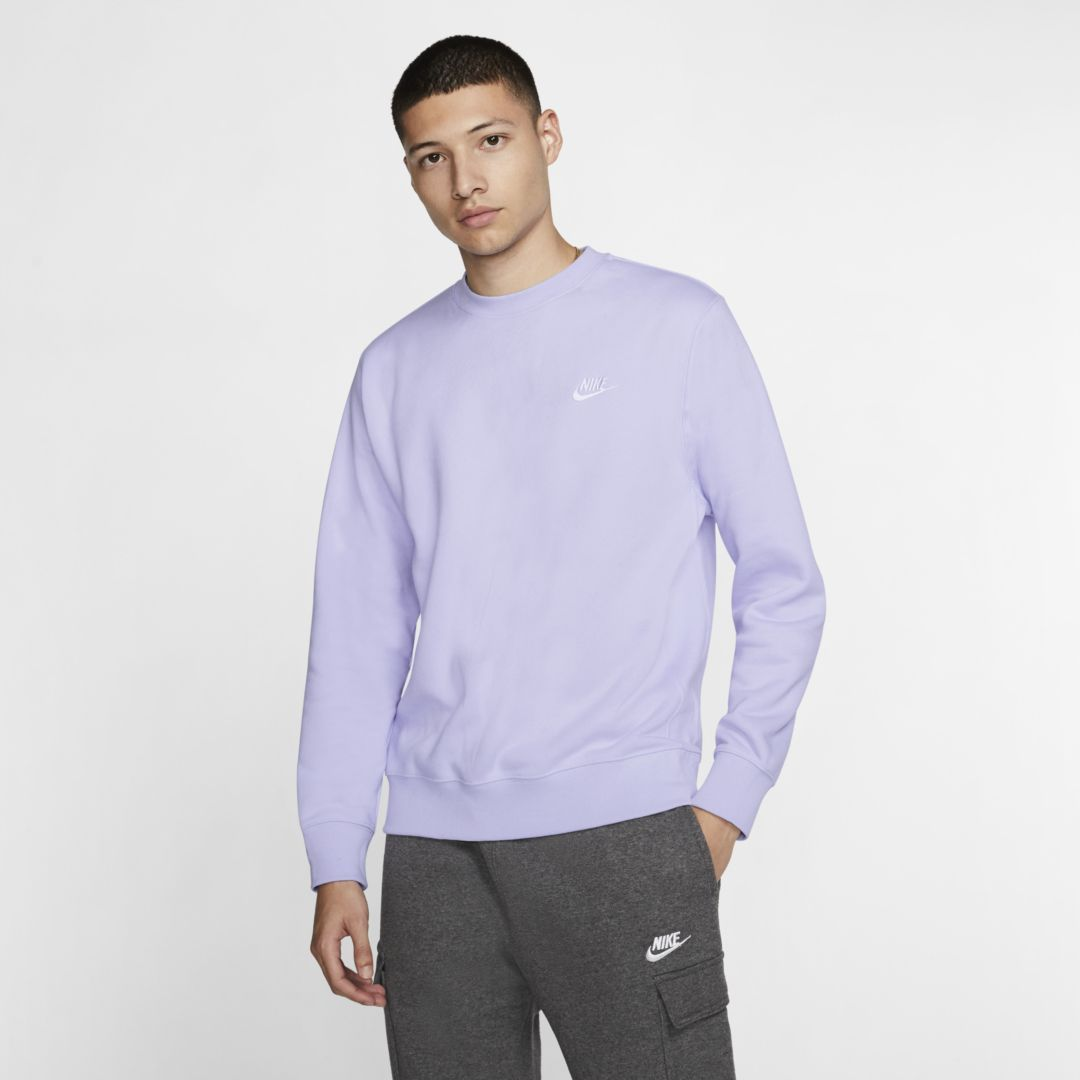 Nike Sportswear Club Fleece Crew Nike Com Vintage Nike Sweatshirt Nike Sportswear Long Sleeve Tshirt Men [ 1080 x 1080 Pixel ]