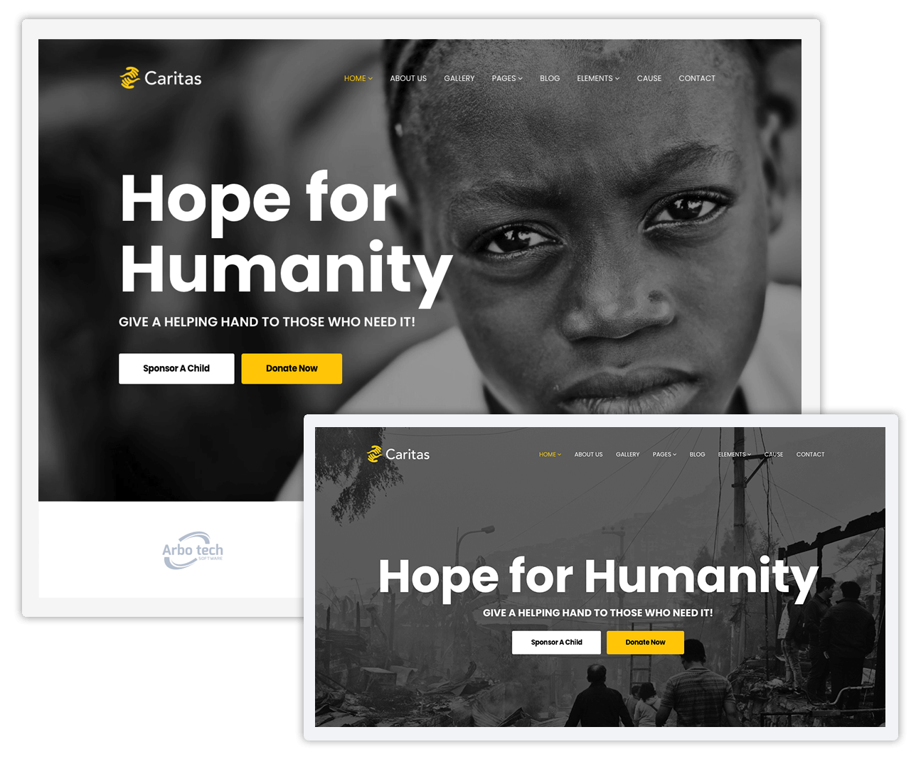 Caritas Donation Non Profit And Charity Wordpress Theme Charity Websites Squarespace Website Design Donation Website