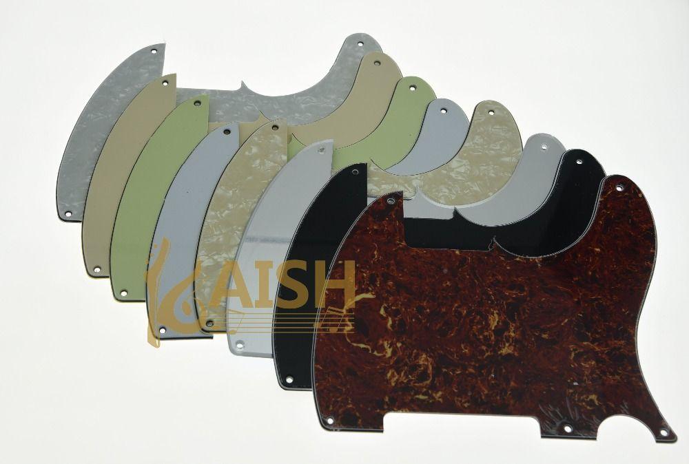 5 Holes Tele Telecaster Pickguard Scratch Plates For Esquire Various