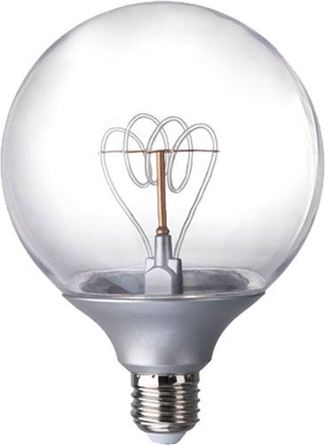 Ikea Nittio Bulbs Give Cool Edison Filament Look With 1 8w Led Efficiency Bombillas Led Bombillas Led