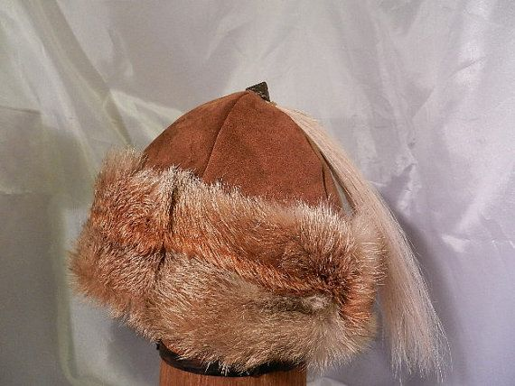2d25c4ed730 Beautiful Norse Mongolian Russian Viking hat with by Micheleshats