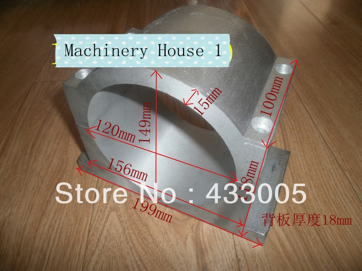 33.00$  Watch now - http://aliwkj.shopchina.info/go.php?t=1180237038 - 120mm Spindle motor fixture Spindle Chuck for CNC Router Spindle Bracket  #magazine