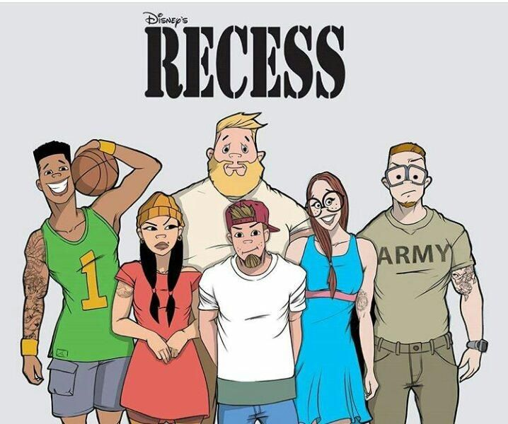 Quot Recess Quot Characters Re Imagined As Young Adults Credits