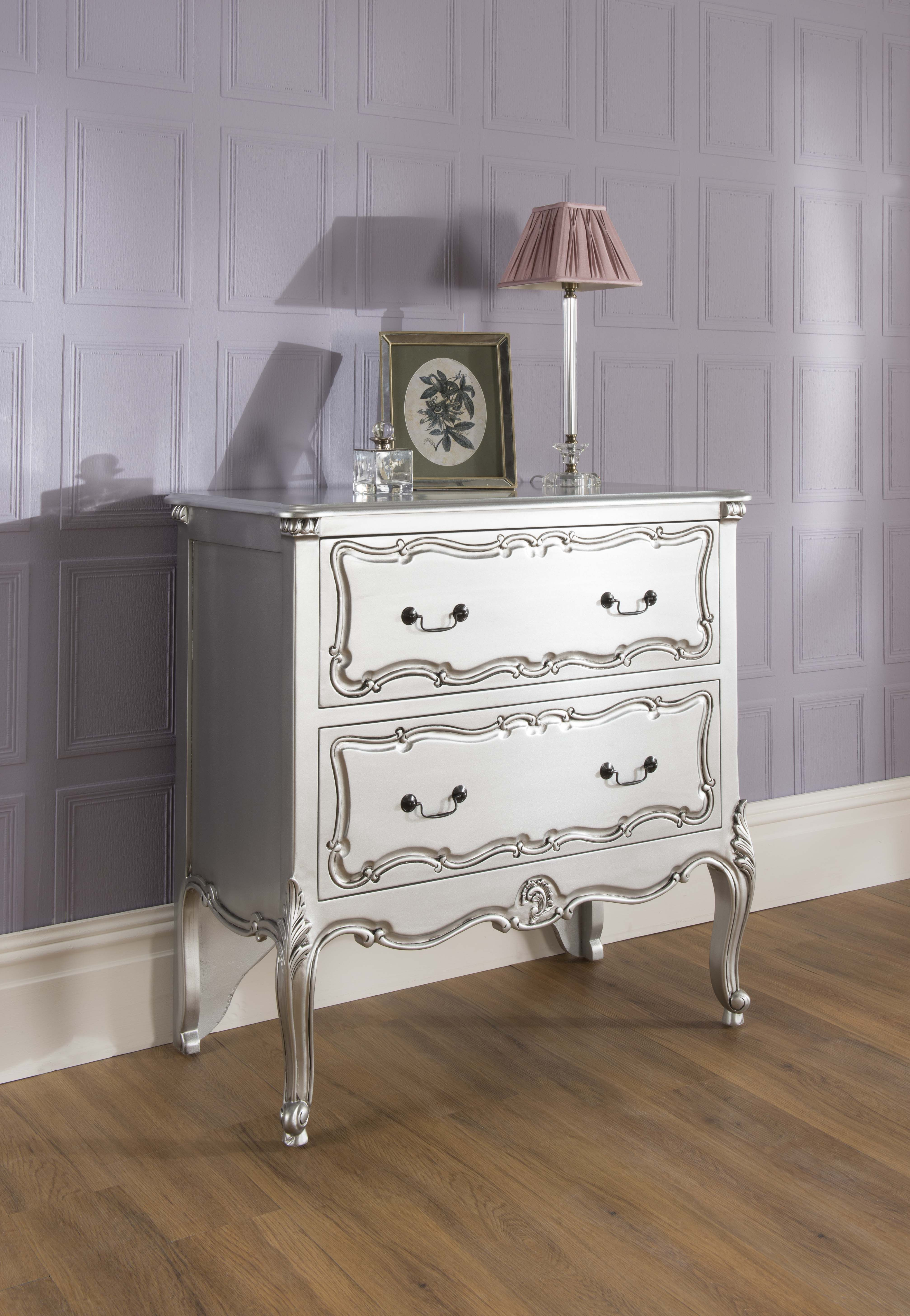 La Rochelle Bedroom Furniture La Rochelle 2 Drawer Antique French Style Chest Now Alb29999