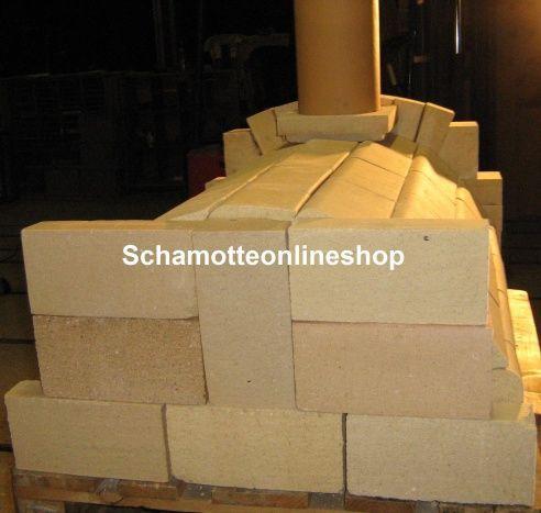 Schamotteonlineshop holzbackofen holzbackofen bausatz for Holzbackofen selber bauen